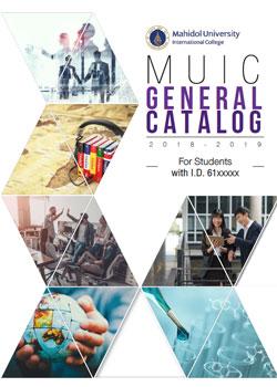Academic catalog | MUIC