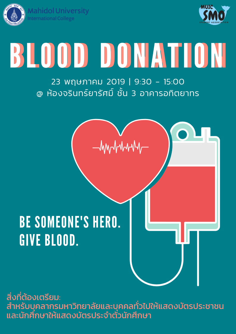 MUIC Blood Donation
