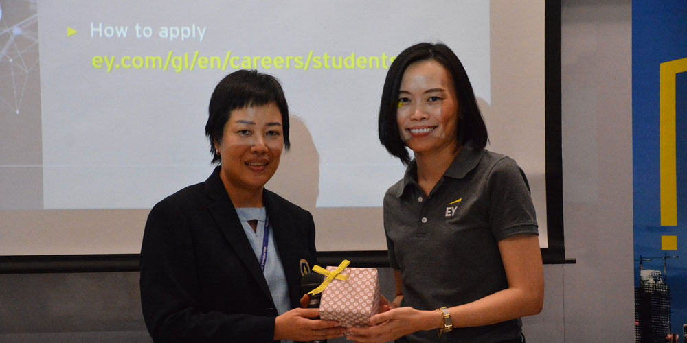 MUIC BBA Students Explore Opportunities at EY Advisory