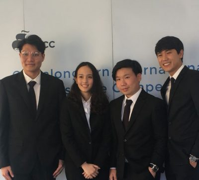 MUIC BBA Team 3rd Runner-up in International Business Case Contest