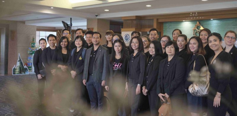 MUIC Welcomes Visitors from Prince of Songkla University