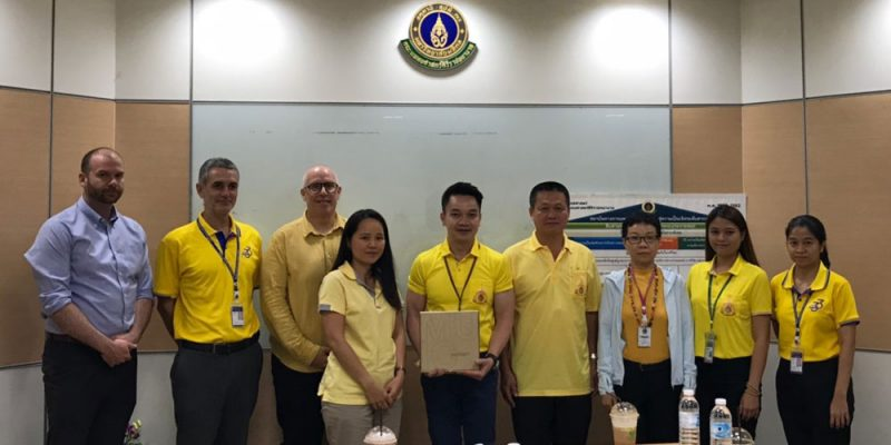 MUIC's Research Team Partners with Siriraj Hospital in Bangkok Noi Project