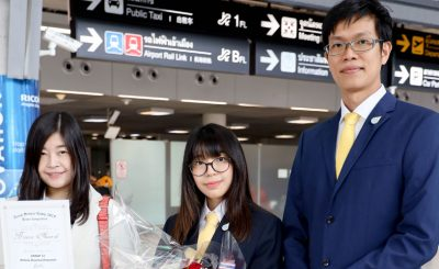 Biological Science Student Wins Bronze at Asian Science Camp 2019