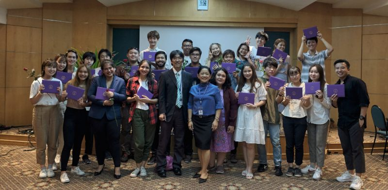 """MUIC, Chiba Uni Team Up Again for This Year's """"Acting Global"""""""