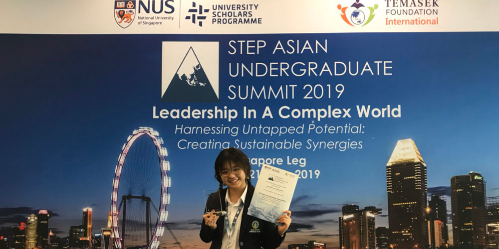Communication Design Student Wins 1st Place in Asian Student