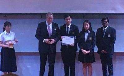 MUIC's Debate Club is 2nd Runner-up in EU-TH Debate Contest