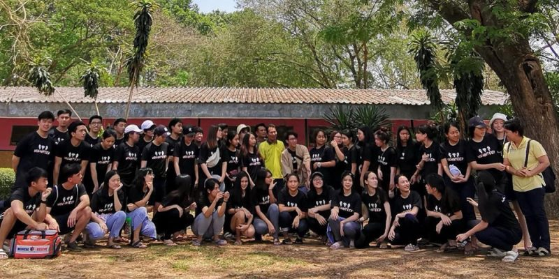 Volunteer Club Performs Good Deeds in Nakhon Sawan School