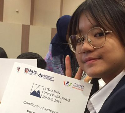 Communication Design Student Wins 1st Place in Asian Student Summit