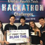 """MUIC's Marketing Students Win 1st Prize in """"Global HealthTech Hackathon Challenges 2019"""""""