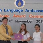 MUIC Gives Recognition to Foreign Language Ambassador Scholarship Recipients