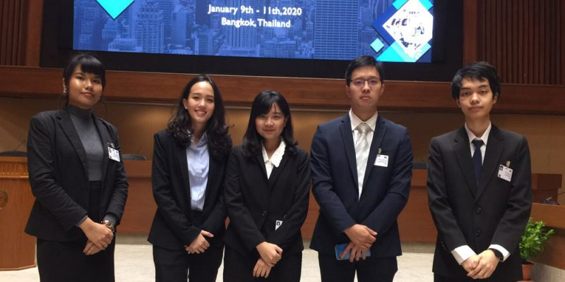 MUIC Students Receive Best Delegate Award in Model UN Event