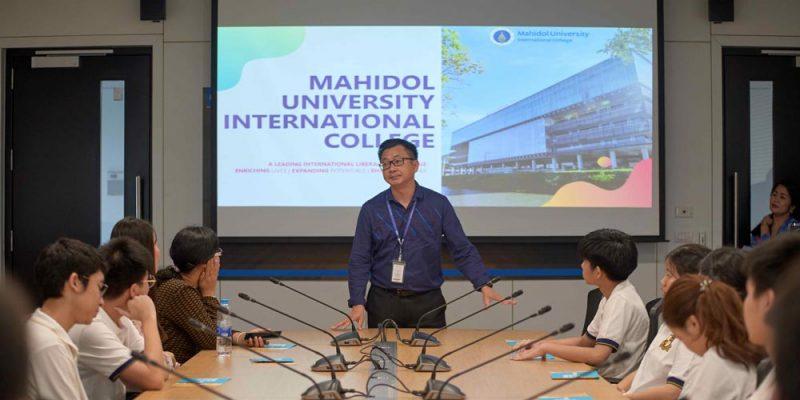 MUIC Welcomes Panyarat High School