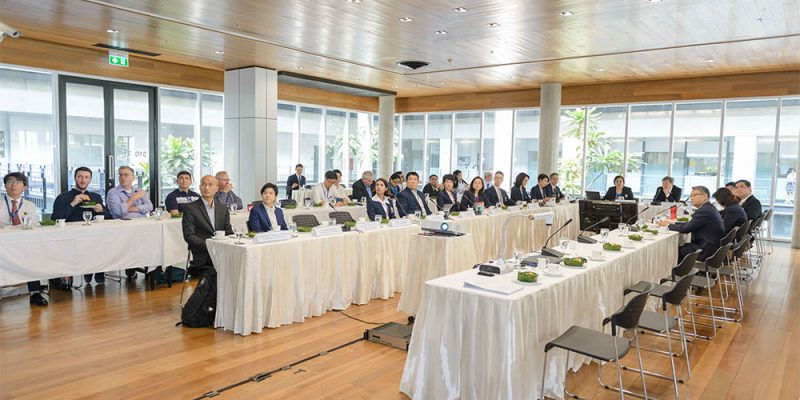 Mahidol University Council Visits MUIC for Evaluation