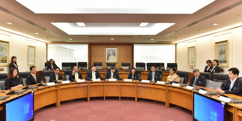 Mahidol's MOU with Central Group to Benefit People with Disabilities