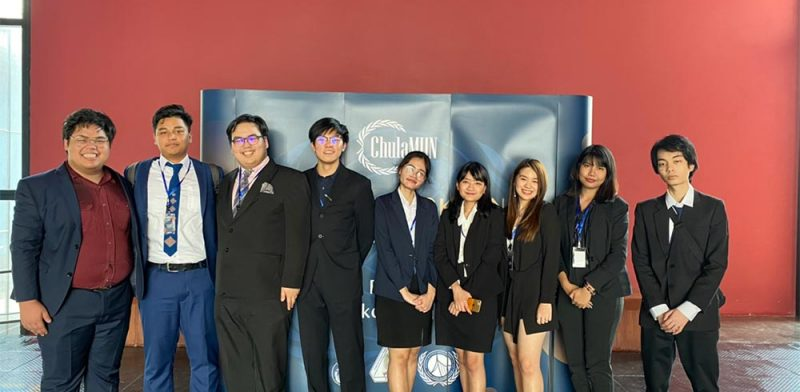 MUIC Students Receive Awards in Chulalongkorn MUN