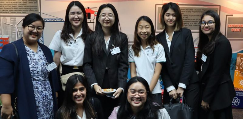"Social Science and IRGA Students Represent MUIC at ""Asia Pacific Day for the Ocean"""