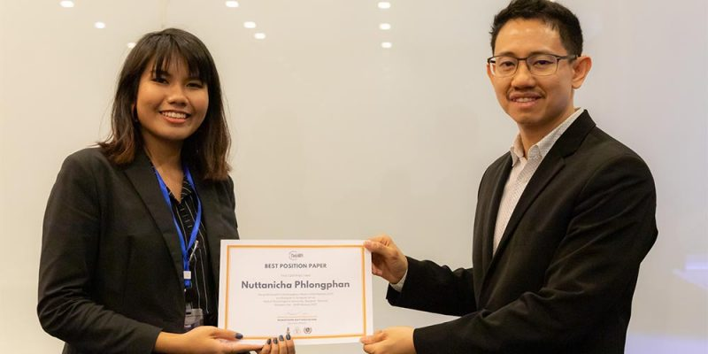 MUIC Students Receive Awards in Chulalongkorn MUN