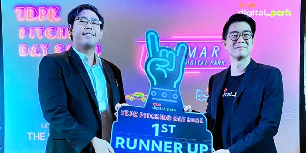 Alumnus' Startup is 1st Runner-up at TDPK Pitching Day 2020