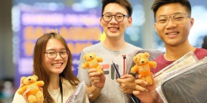 "MUIC Joins ""Go Global Fair 2020"" at NUS-Singapore"
