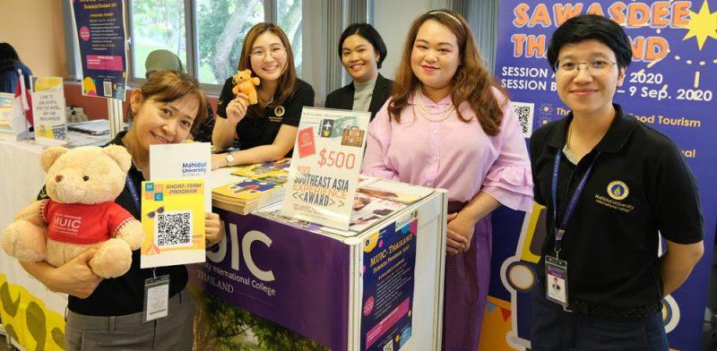 "MUIC Joins ""Go Global Fair 2020"" at NUS-Singapore"