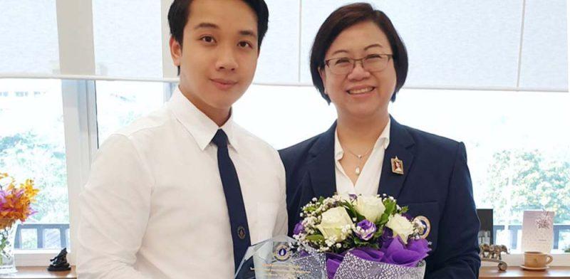 "MUIC Student Receives ""Virtuous Person of Mahidol University Award 2019"""