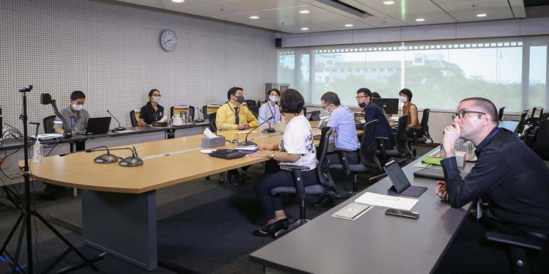 MUIC Executives Meet Students Online to Discuss Term 3 Matters