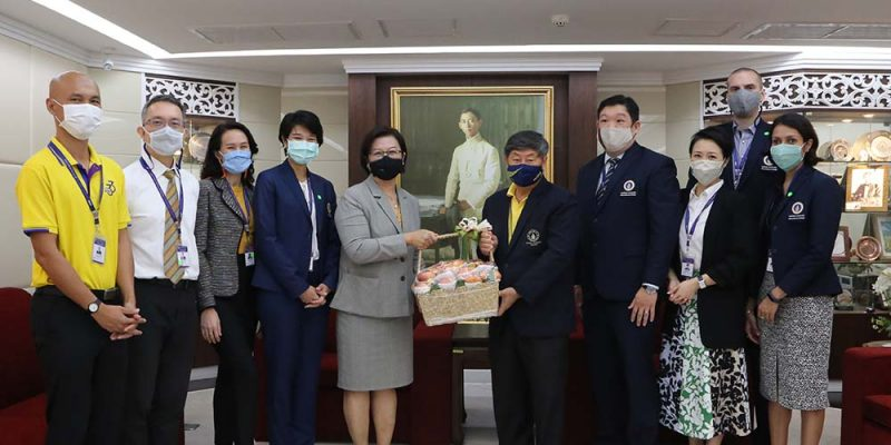 MUIC Executives Congratulate Mahidol University President