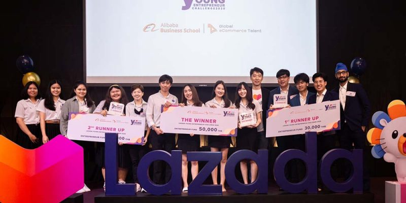Business Administration Students Win Lazada Young Entrepreneur Challenge 2020