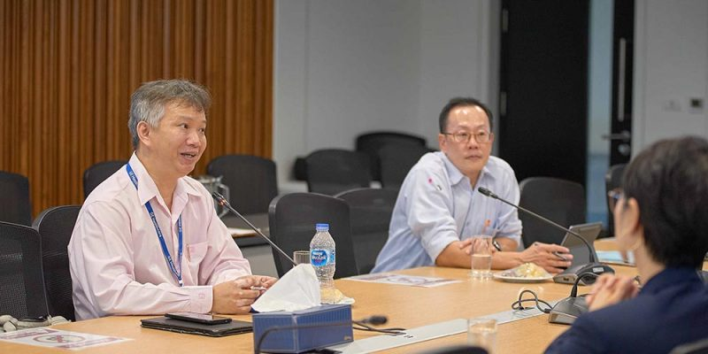 MU Faculty of Science Executives Visit MUIC