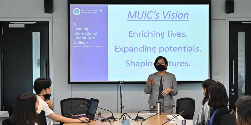 Orientation for MUIC's New Employees