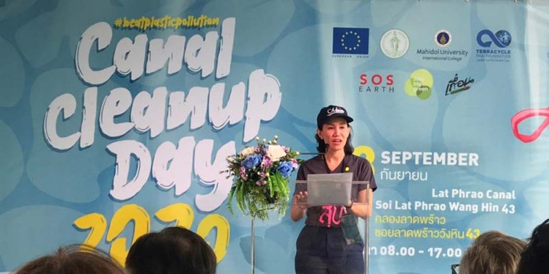 MUIC Partners with EU in Canal Cleanup Day 2020