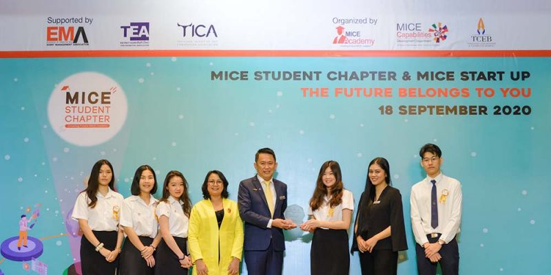 MUIC Students Rewarded for Joining MICE Training Event
