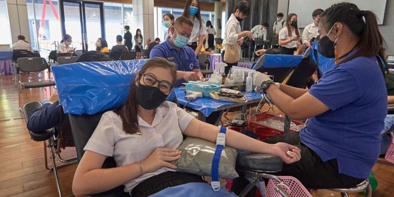 Blood Drive in MUIC