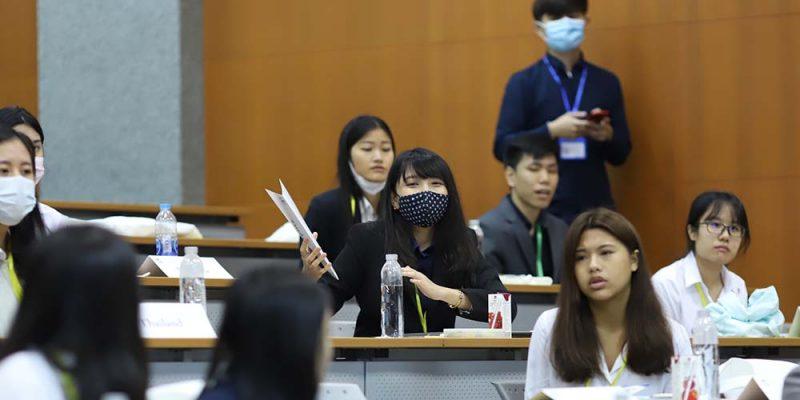MUIC students won awards in Thailand WHO Simulation 2020