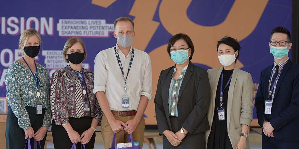Bangkok Patana School Officials Visit MUIC