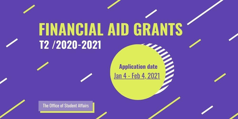 Banner ทุน Financial Aid T2_2020-2021