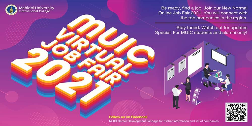 MUIC Virtual Job Fair 2021