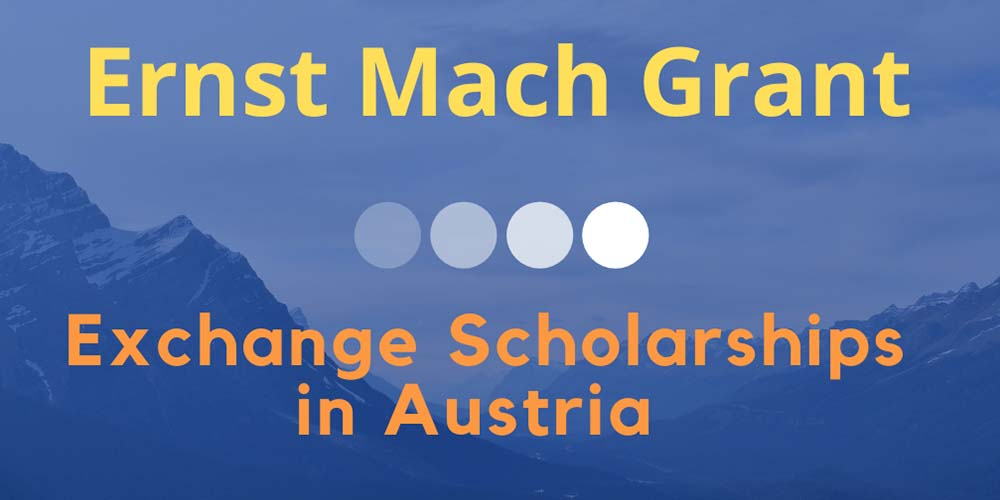 Ernst Mach Grant Scholarship opportunity for student exchange activity at MUIC partner universities in Austria