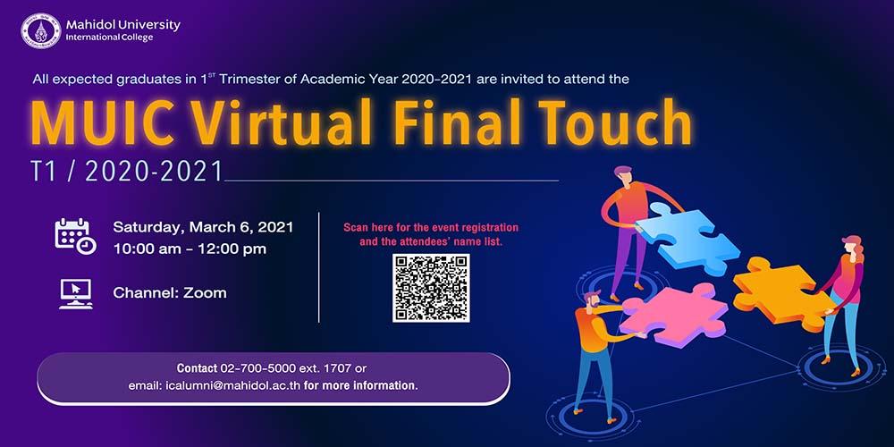 MUIC Virtual Final Touch