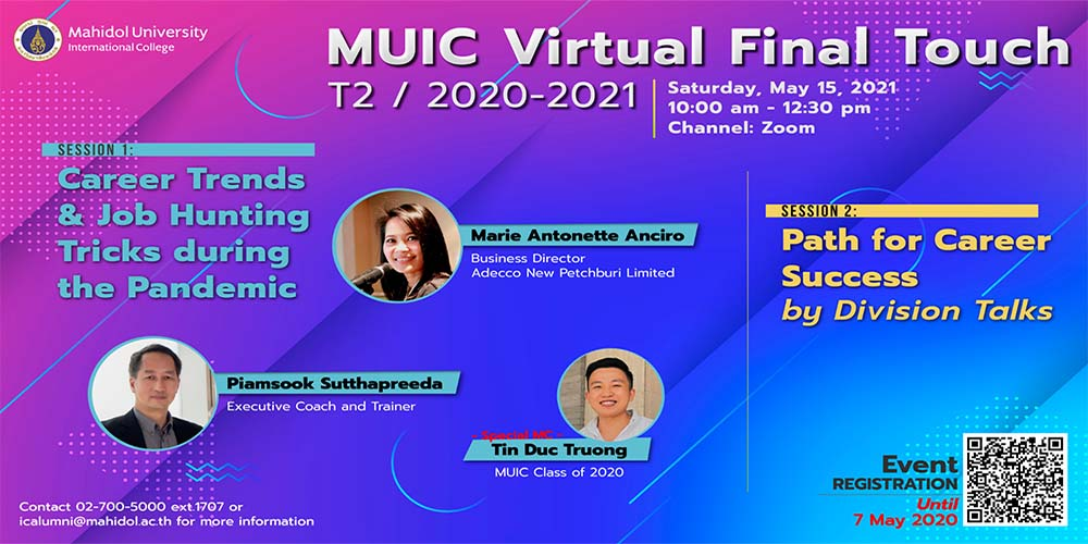 MUIC Virtual Final Touch