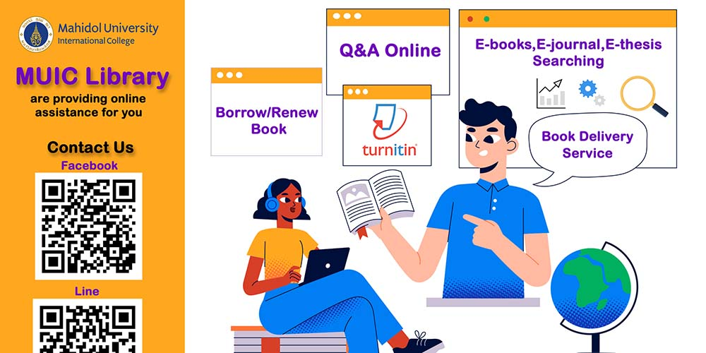 MUIC Library Online Assistance