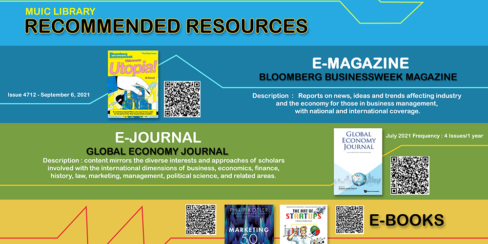 MUIC Library Recommended Resources