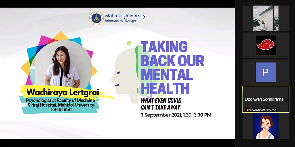 Taking Back Our Mental Health