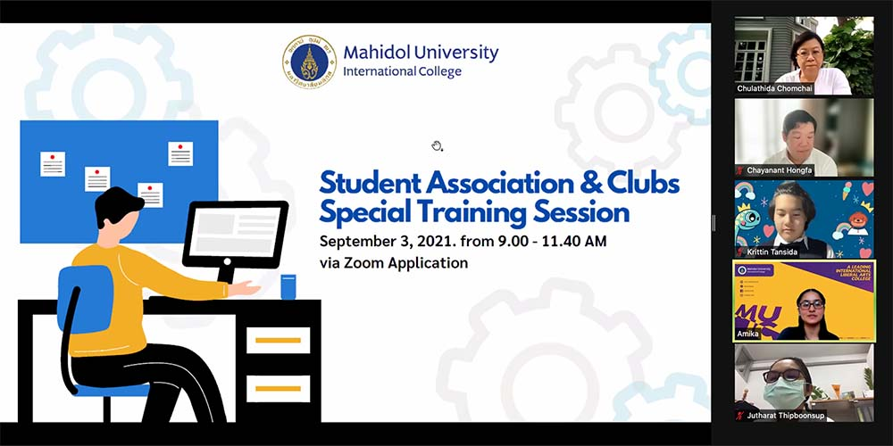 Training for New Officers of Student Association and Clubs