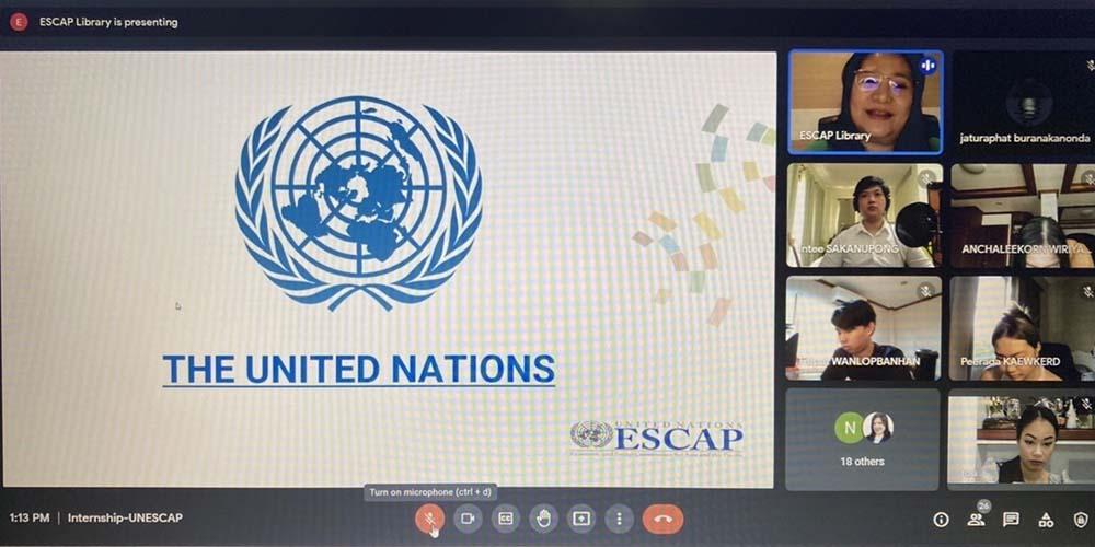 Online Seminar on UNESCAP Internship